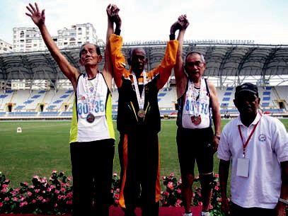 Asian Cup Evergreen Athletics Championships