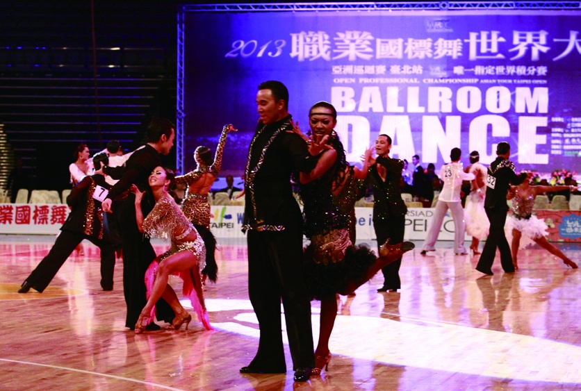 2013 Open Professional Ballroom Dance Championship Asian Tour Taipei Open