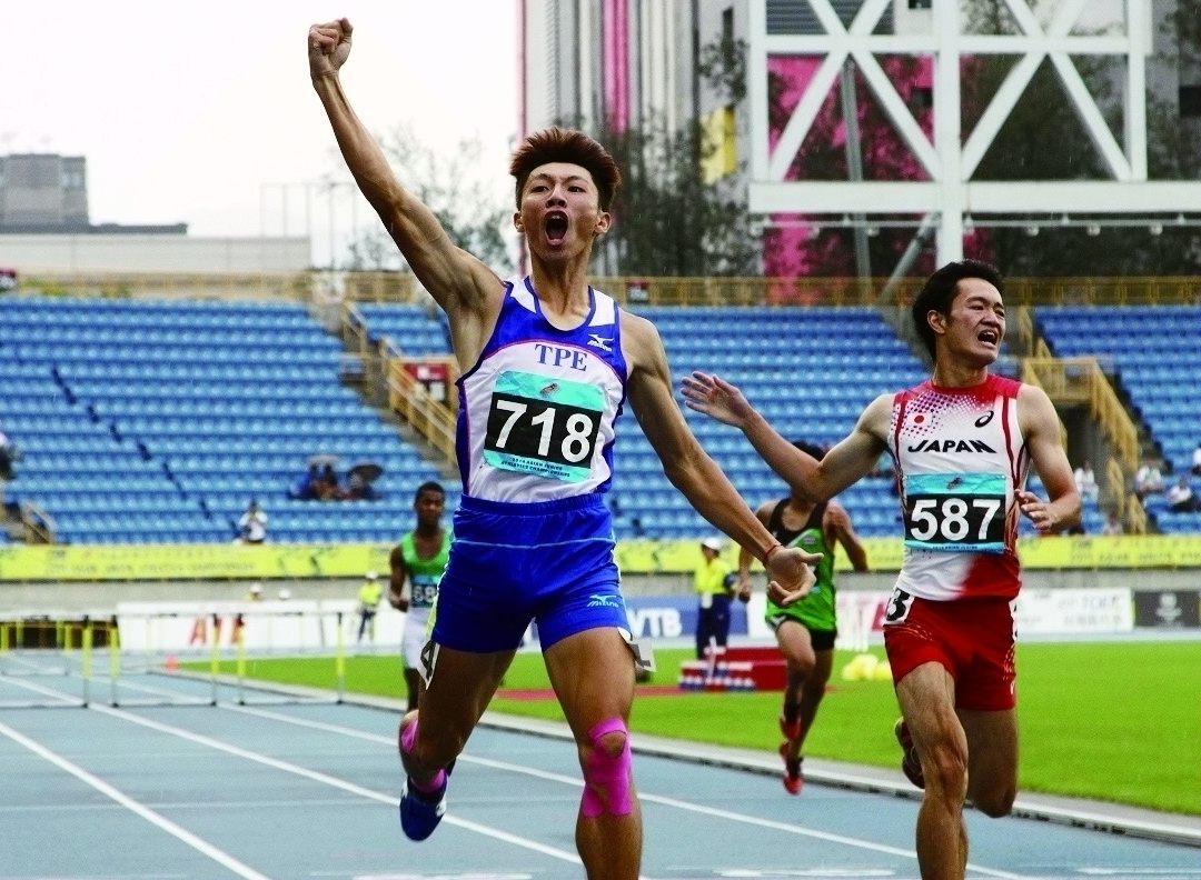 The winner of the gold medal in 400 Meter Hurdle at the 16th Asian Junior Athletics Championships 2014