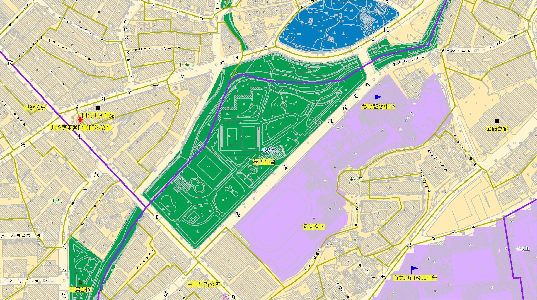 防災公園位置圖(另開新視窗)