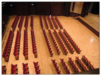 中正廳觀眾席位