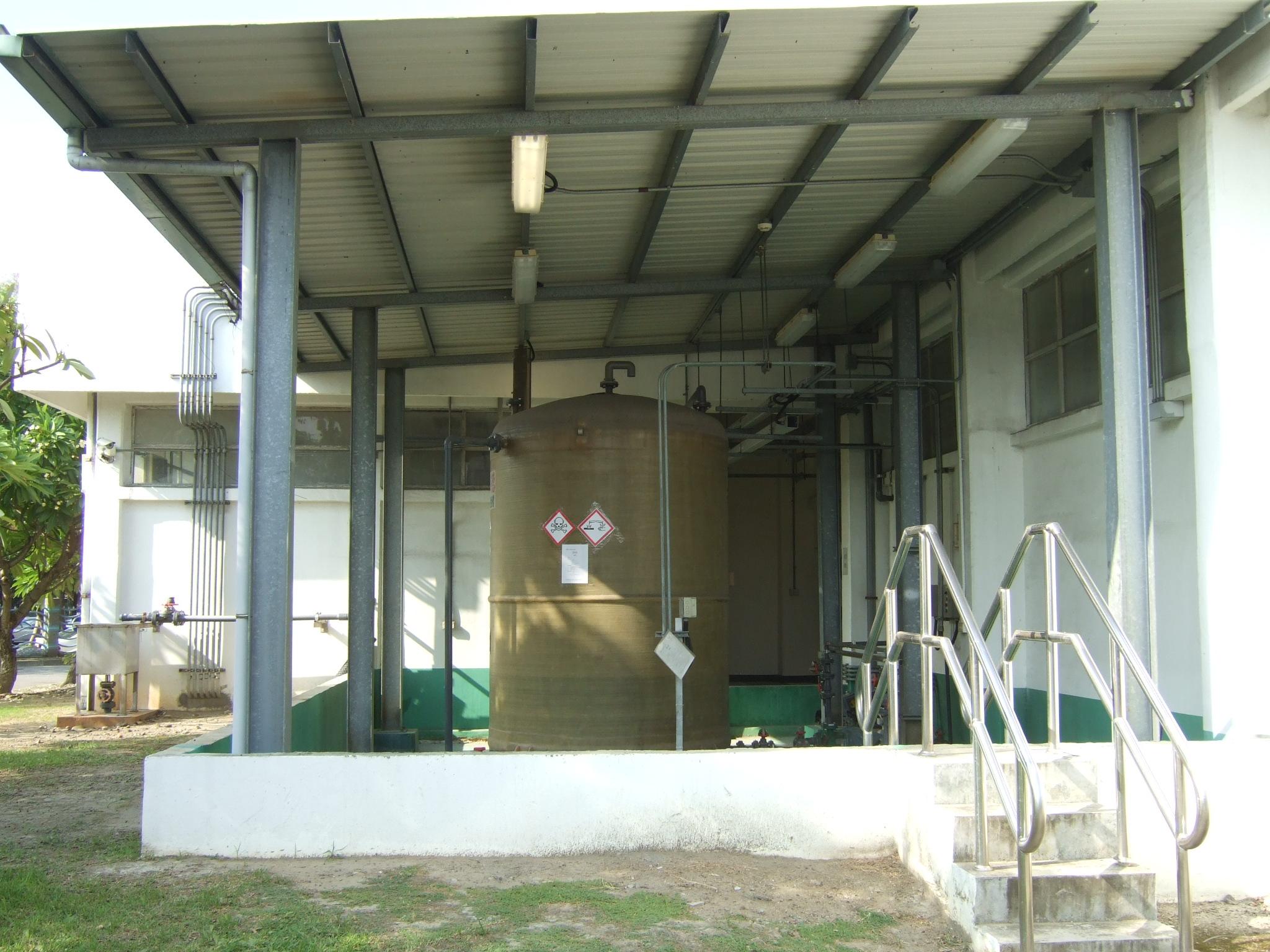 化學加藥室