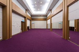 Photo shows the multi-function room in Wellspring Theater