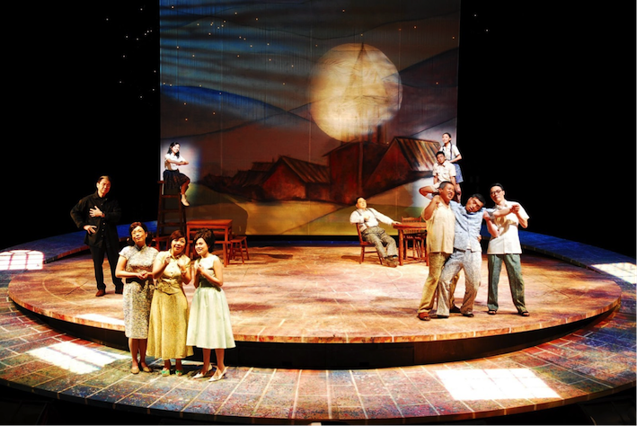 4.Publicity photo for the Godot Theatre Company production of Little Town of Tamsui. (Photo courtesy of DoCA)