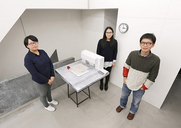 "3. Shen Ting-tseng (right), lead architect of ""Floating"", and his team. (Photo courtesy of Shen Ting Tseng Architects)"
