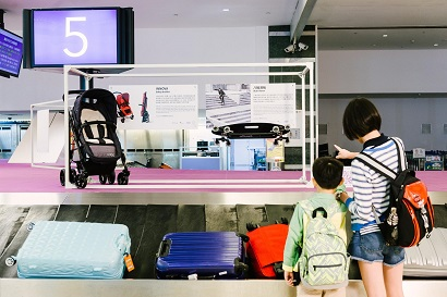 4. Travelers curious about the newly launched DzDesign Station: Better Airport Designdz project at Taoyuan International Airport.