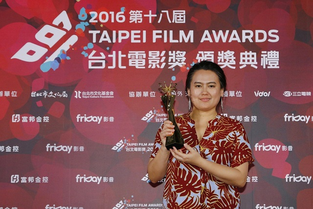 <br/>3. Laha Mebow, director of Lokah Laqi! (Hang in There, <br/>Kids!), winner of this year's NT$1 million Grand Prize, Best Narrative Feature, and Best Director. (Photo courtesy of TFF)