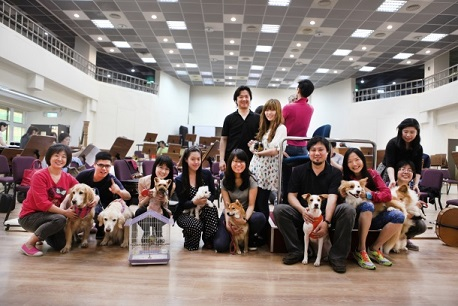 3. TSO members were invited to bring pets to rehearsals before the official concerts on April 9 and 10.
