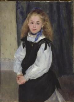 Portrait of Mademoiselle Legrand by Pierre-Auguste Renoir(PHOTO COURTESY OF TFAM)