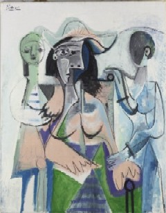 Woman and Children by Pablo Picasso(PHOTO COURTESY OF TFAM)