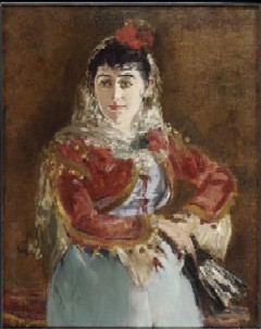 Portrait of Emilie Ambre as Carmen by Edouard Manet(PHOTO COURTESY OF TFAM)