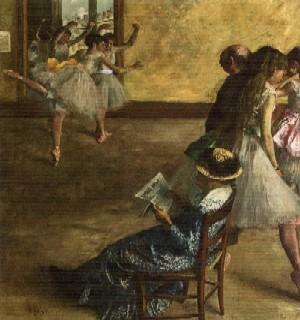 The Ballet Class by Edgar Degas(PHOTO COURTESY OF TFAM)