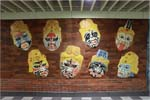 Decorated wall at the Xinzhuang Line Taipei City Section's Xingtian Temple Station, jpg download, opened with new window