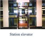 Station elevator
