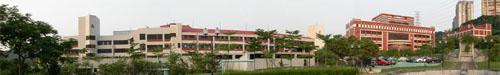 Buildings of Area B and Area E