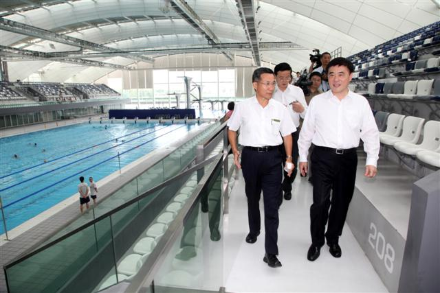 Visiting Shanghai Oriental Sports Center