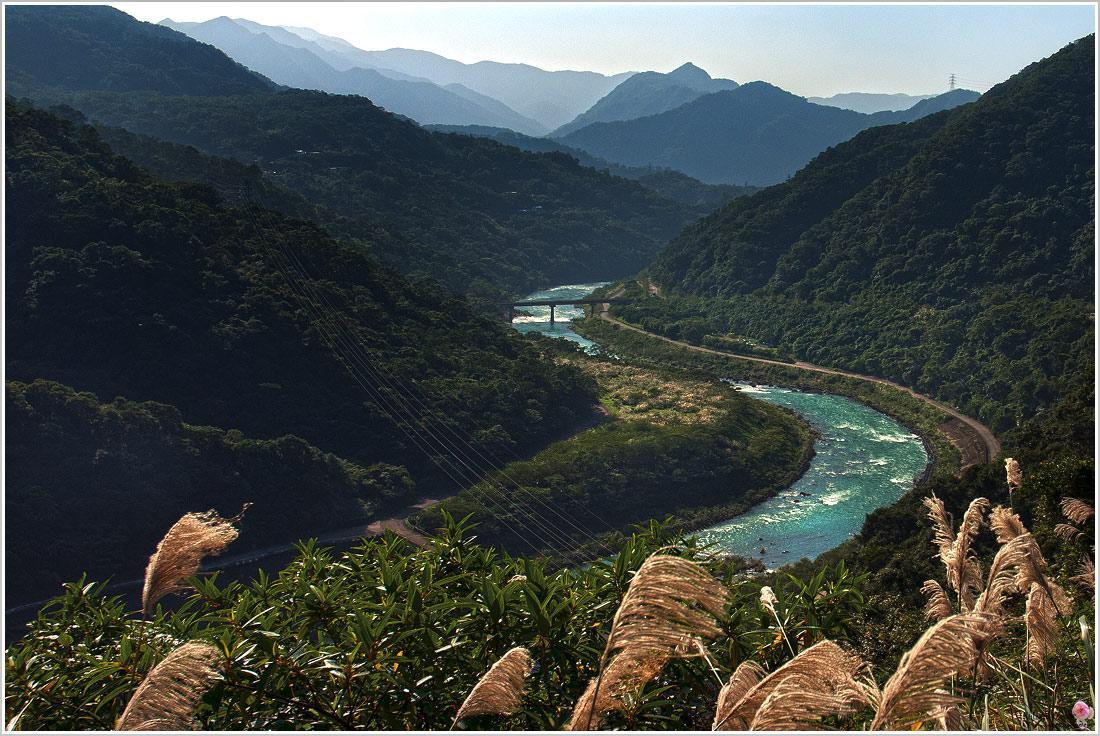 蜿蜒美麗的北勢溪