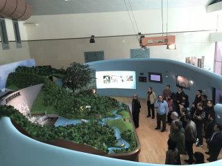 大壩及水文流域模型展示區