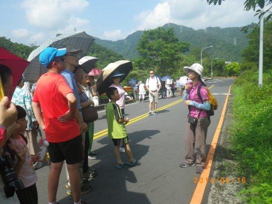 Participants focusing on environmental education course