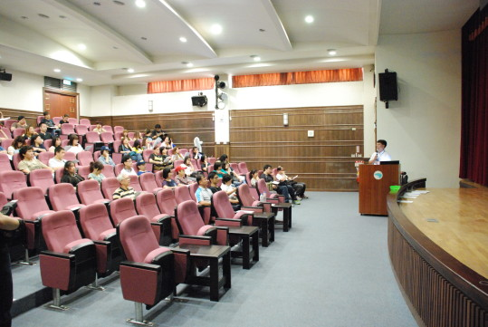 Photo: Taiwan Cable Connection Corp. learning the environmental education program