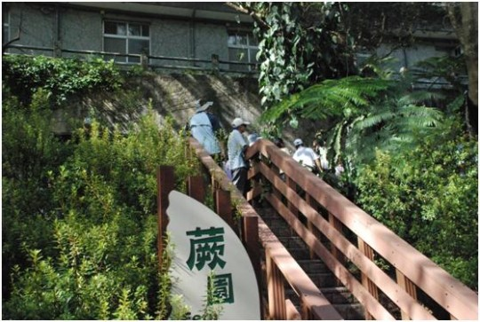 Water Resources Agency & Water Resources Planning Institute visited the Feitsui Fern Garden