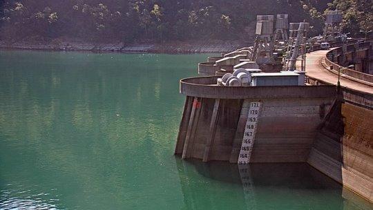 附圖:翡翠水庫106年2月16日水位現況照片