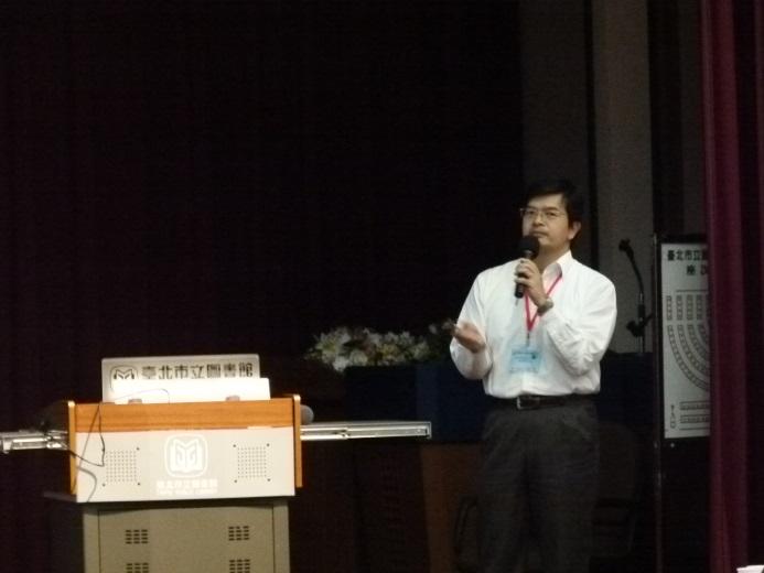 中華電信數據通信分公司 蔡志強 經理 演講