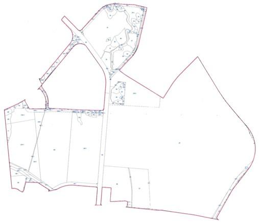 南港區第一期市地重劃區重劃前地籍圖