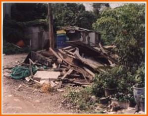 大安區第一期重劃前土地閒置,地籍紊亂