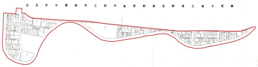 開新視窗-木柵區第三期重劃後地籍圖