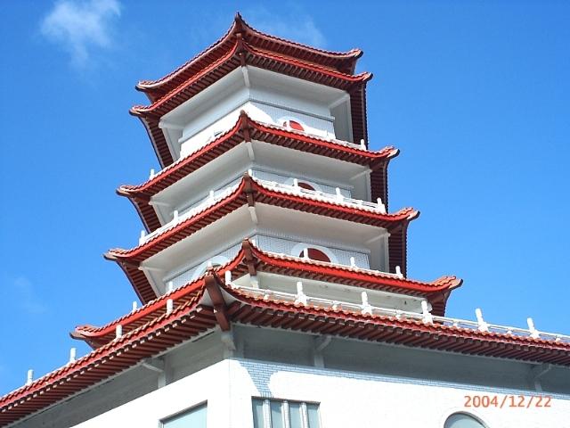 陽明山靈骨塔外觀