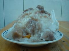 芋頭牛奶冰+地瓜