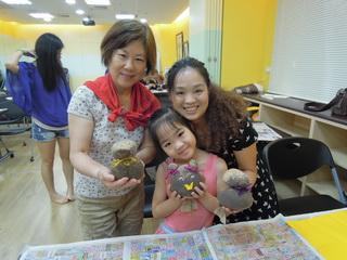 新移民親子園藝課程照片