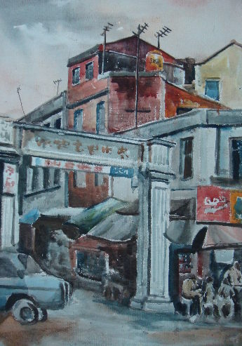 一幅圖畫:參議巷