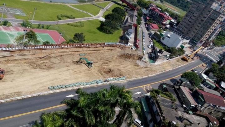 文山木新路陸橋拆除工程