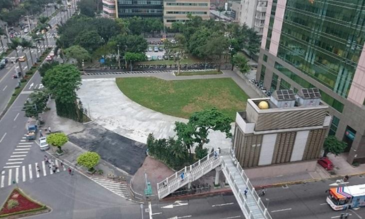 臺北市議會舊址拆除及綠美化工程