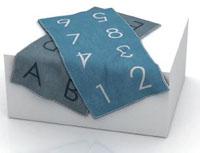 抹布每面加編號,幫助記憶使用過的布面,讓打掃更輕鬆。
