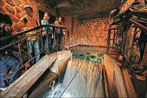 第3水源取水井的水量豐沛。