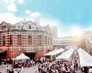 西門紅樓是全臺保存最完整的三級古蹟市場建築物,現在已蛻變成文創新據點。(圖/西門紅樓提供)