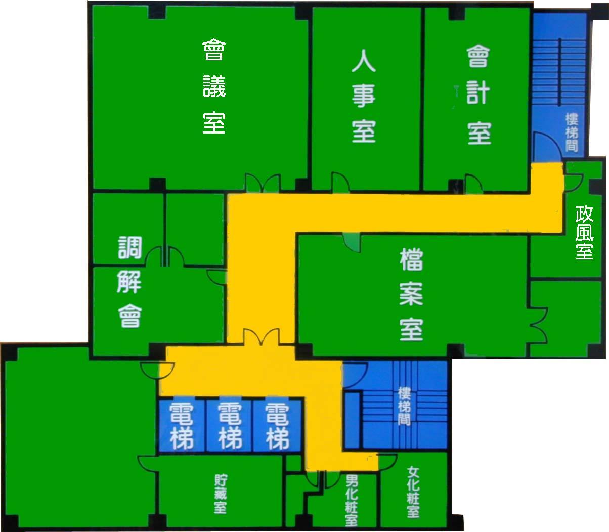 10樓平面圖