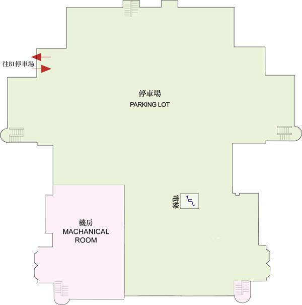天文館B2平面圖