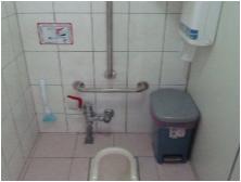 倒T型設備-廁所