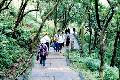 Developed trails are a wonderful place to enjoy a healthy stroll.