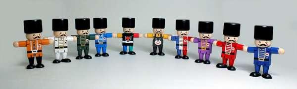 Limited edition Nutcracker soldier dolls