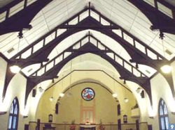 9. Zhongshan Presbyterian Church has a Gothic exterior, with