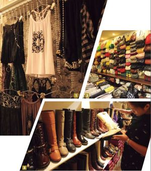 1-3. Wufenpu has over 1,000 outlets selling trendy fashions