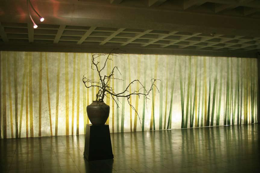 3. An example of Kobayashi Junko's talent at installation art at the Dao of Paper: Environment, Tranquility, and Reverence exhibit.