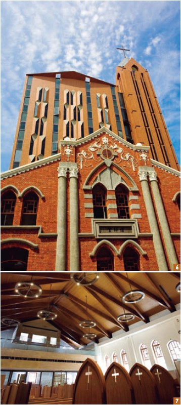 6-7. The solemn and stately Dadaocheng Church is a fusion of Chinese and Western architectural elements.