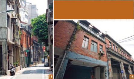 13-14. Guide St. is dotted with distinctive Western-style structures in the Baroque style.
