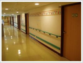 兒科病房牆壁